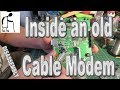 Grandad looks inside an old Cable Modem - Tear down