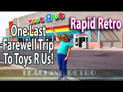 The End of Toys R Us: One Last Visit Before It Closes