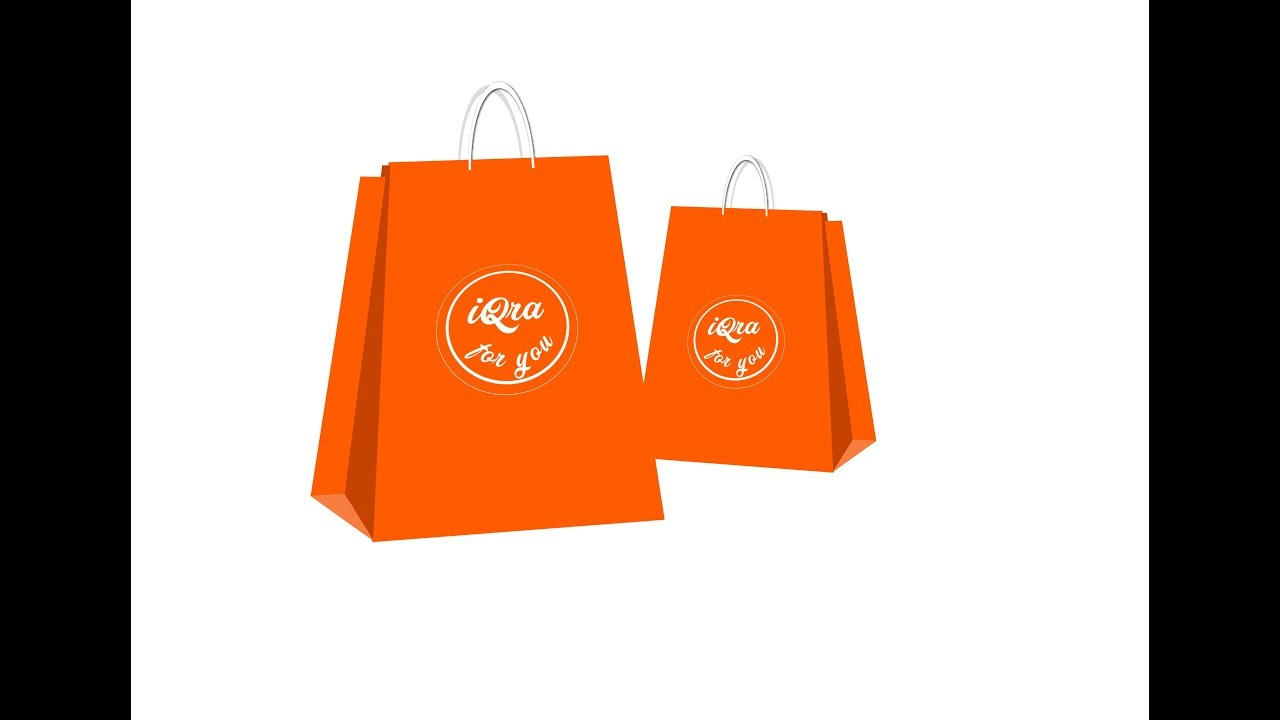 how to design a shopping bag in adobe illustrator youtube