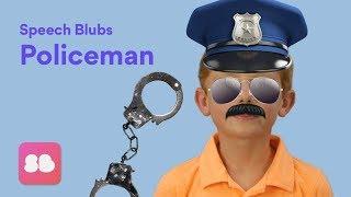 Speech Blubs POLICEMAN Storybook - Speech Exercises for Kids!