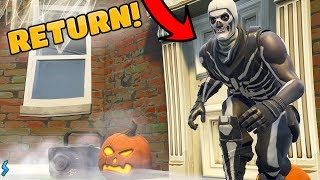 SKULL TROOPER IS RETURNING! *OG Skull Trooper Explains Why* (Fortnite)
