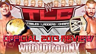 WWE TLC: Tables, Ladders & Chairs 2013 Review & Results | Randy Orton Is The Champion Of Champions
