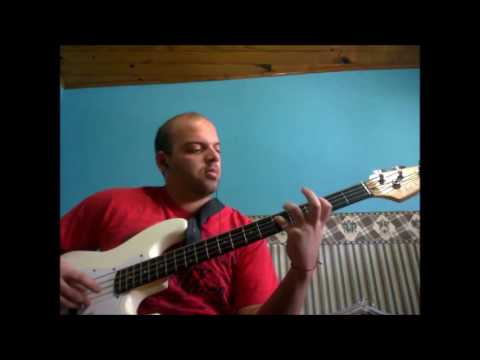 The Magnificent Seven The Clash (bass Cover)