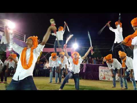 Rajputana Roar - Sword show with pyramid style by rajput boys - Bharuch