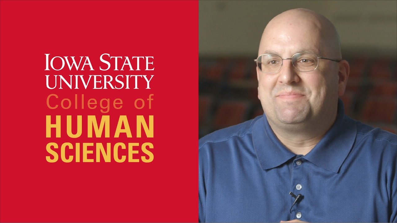 college of human sciences iowa state university faculty focus doug wieczorek