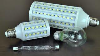 Купить Светодиодные Лампы или Лампы Накаливания (Сравнение)(Купить Светодиодные Лампы или Лампы Накаливания (Сравнение). E27 60SMD 5050 12Watt 800lm Теплый Белый(3000k) E27 165SMD 5050..., 2014-10-15T00:30:11.000Z)