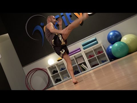 Muay Thai Cardio Training 3 with Keven Haas (Fityess) in Full HD