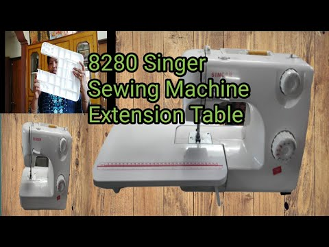 Singer 8280 Sewing Machine Extension Table Review In Telugu