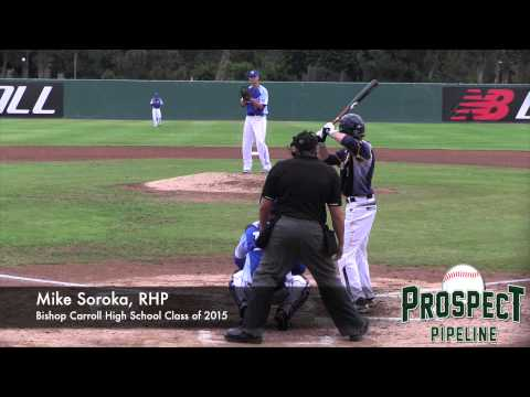 Mike Soroka Prospect Video, RHP, Bishop Carroll High School Class of 2015