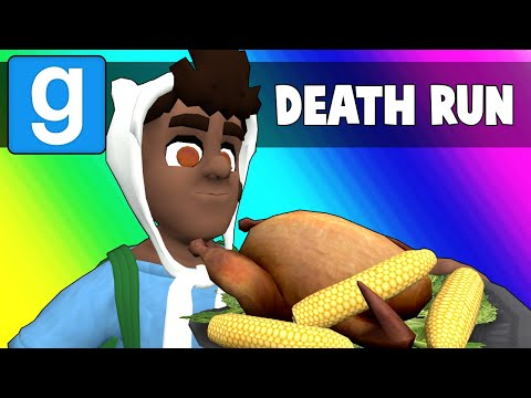 Thumbnail: Gmod Death Run Funny Moments - Ceaseless Thanksgiving Puns! (Garry's Mod)
