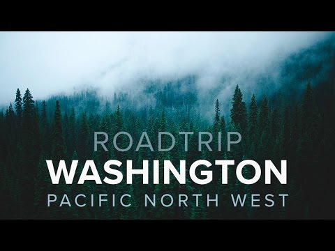 Roadtrip through the PNW, Washington // travel vlog