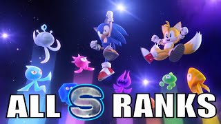 Sonic Colors (60 FPS) - Full Playthrough (All S Ranks) - Road to Sonic Forces