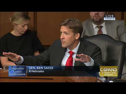 """Sasse on Kavanaugh Hearing: """"We Can And We Should Do Better Than This"""""""