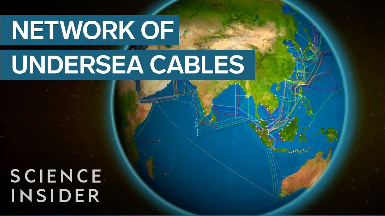 Undersea Cables Power The Internet