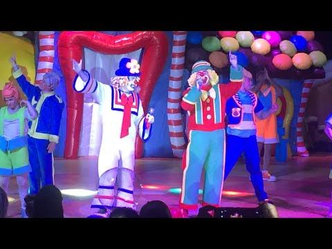 Rodrigo no Show do Patati Patatá Circo dos Sonhos