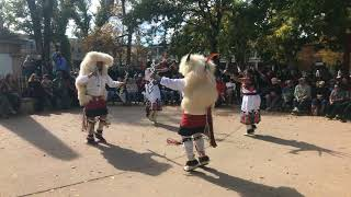 Indigenous Peoples Day Celebration 2017 - Laguna and Hopi Buffalo Dancers Clip 4