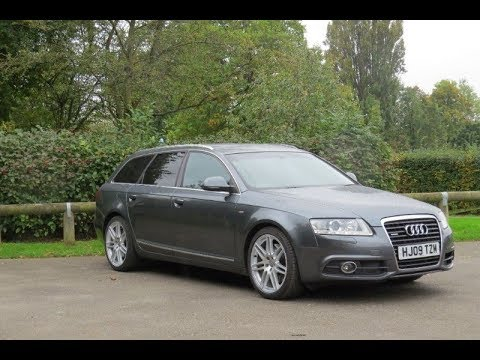 2009 audi a6 avant 3 0 tdi quattro le mans tiptronic for sale facelift model youtube. Black Bedroom Furniture Sets. Home Design Ideas