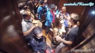 Asansörde Zorla öpülen Kız Zevk Alıyor!!! [Türkçe Altyazı ] HD