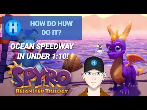 Ocean Speedway in under 1:10 - Spyro Reignited - Ripto's Rage