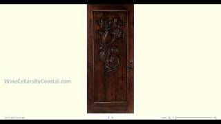 Wine Cellar Doors By Coastal Custom Wine Cellars