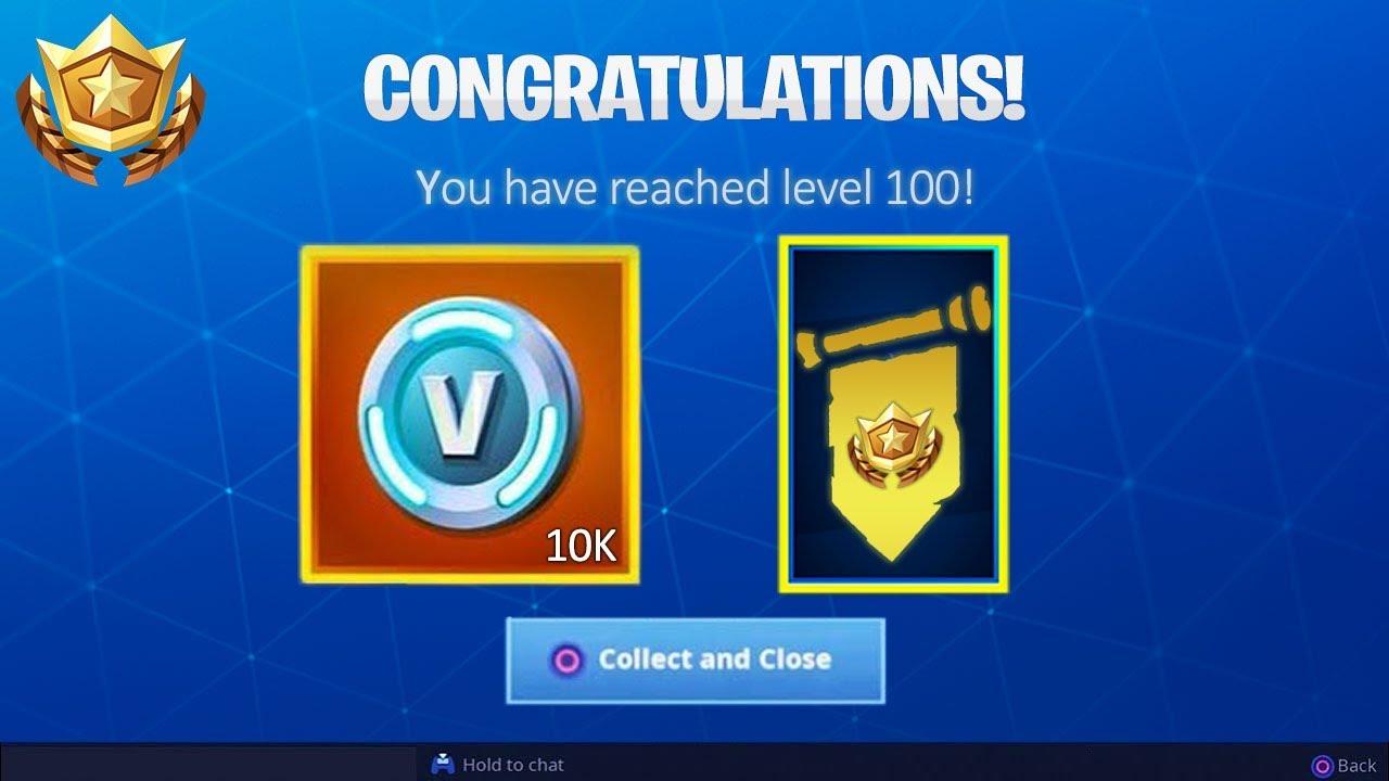 New Level 100 Free Secret Rewards Fortnite Battle Royale Youtube