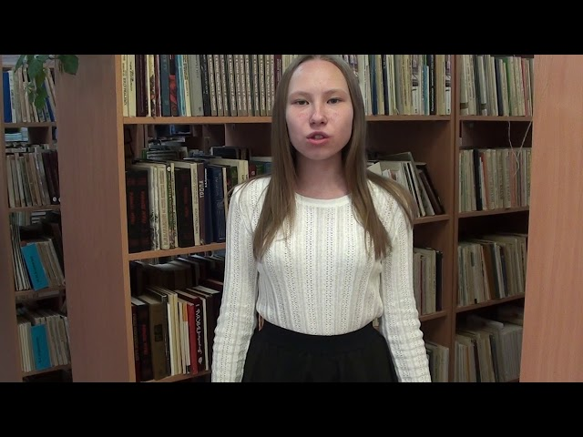 Изображение предпросмотра прочтения – ВарвараНекрасова читает произведение «Кто создан из камня» М.И.Цветаевой