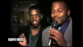 Kanye Looks like Diddy with some big ass Teeth 1998 footage