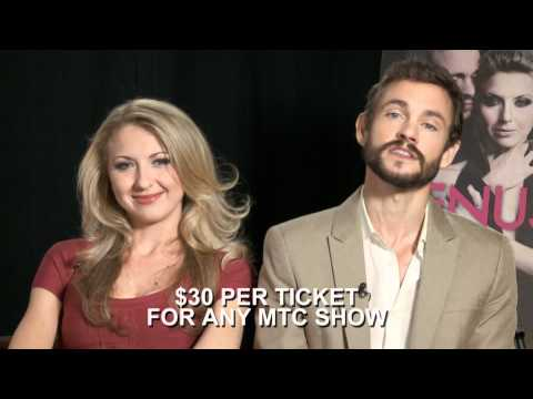 Nina Arianda & Hugh Dancy for MTC's 30 UNDER 30
