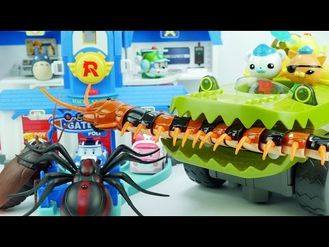 Thumbnail: Go Octonauts! Go Gup-K~! Robocarpoli rescue headquarters is Under attack by Monster Bugs!