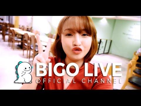 Cute Broadcaster Go Live with BIGO LIVE