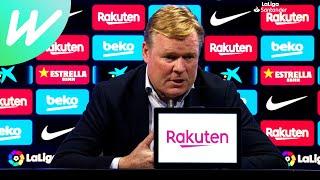 Koeman Hopes Home Defeat Isn't Messi's Final Game At Camp Nou   Barcelona Vs Celta Vigo   La Liga