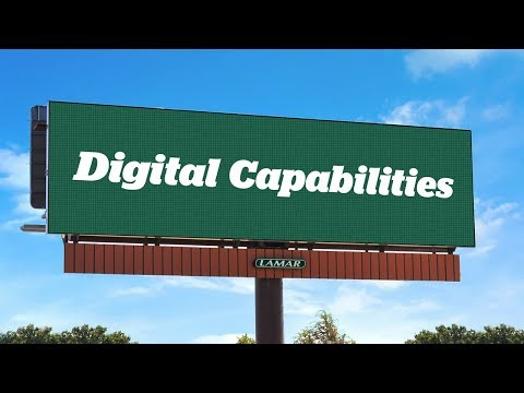 Lamar Advertising Digital Out of Home Capabilities