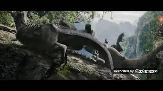 Goril vs dinozor goril dinozorun azını kırdı bende irendim bağardım