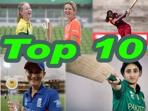 ICC Player RankingsTop 10 Women Batsman in World,T20 Cricket Rankings 2016 - Top 10 Woman Batsmen