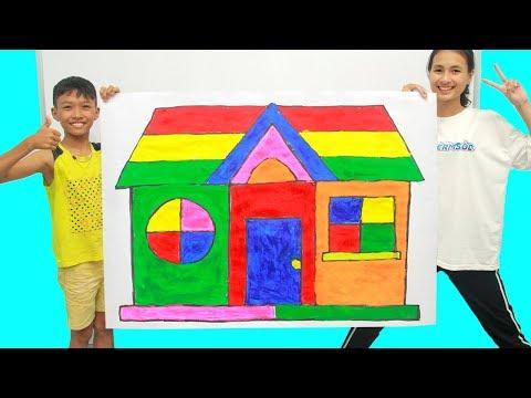 Giant House, Belajar Menggambar dan Mewarnai untuk Anak