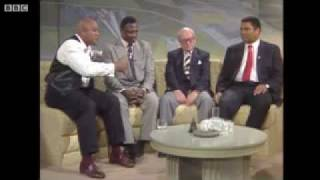 Frazier, Ali and Foreman On British TV Show Very Funny