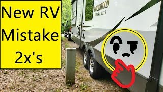 1ST trip In Our New RV **Mistakes Ahead**