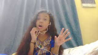 I'm singing ... let it go from frozen    smile with haseena 's music