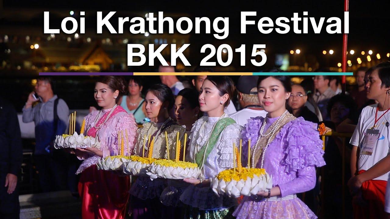 Loi Krathong Festival 2015 (Bangkok, Thailand)