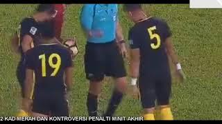 Aidil Tunggu Reff Di Pintu Stadium