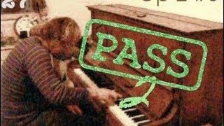 30sec Piano Improvisation Series Op2#3 (Modern Classical/Jazz Style)