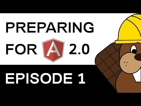 Angular 2 Preparation - EPISODE 1/6 - Code Structure Comparison