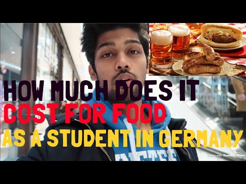 How Much Does It Cost For FOOD In Germany?- PART 1  | BERLIN VLOG |GERMANY
