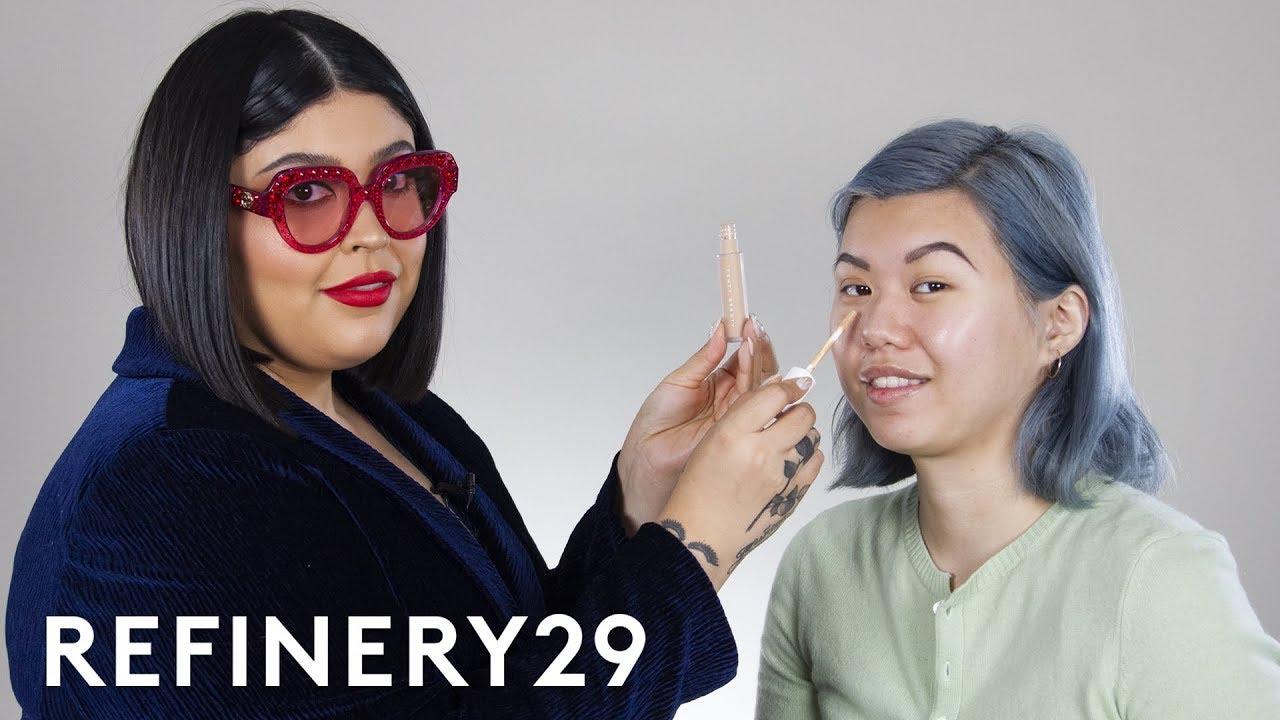 Rihanna's Makeup Artist Does My Makeup   Beauty With Mi   Refinery29