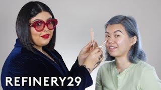 Rihanna's Makeup Artist Does My Makeup | Beauty With Mi | Refinery29