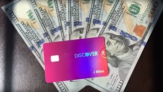 DISCOVER IT CREDIT CARD | BEST CASHBACK CREDIT CARD | Miles Card Review | 2017 Best Credit | YT7