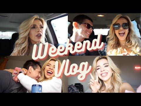 WEEKEND VLOG: What Our Relationship is Really Like, Photoshoot, Avocado Toast and Oatmilk Lattes