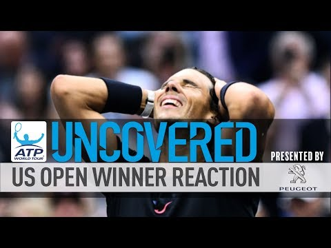 US Open Winner's Reaction Uncovered