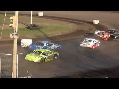 IMCA Stock Car feature Benton County Speedway 4/29/18