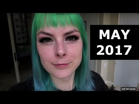 May 2017! Monthly Vlog ft. New Microphones, San Antonio, and Camping
